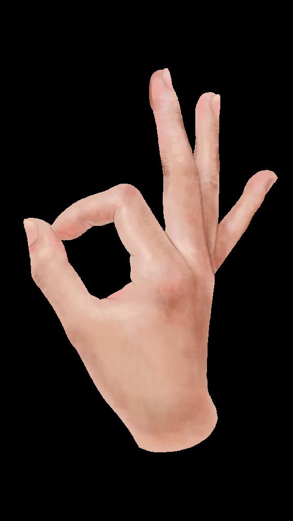 hand OK