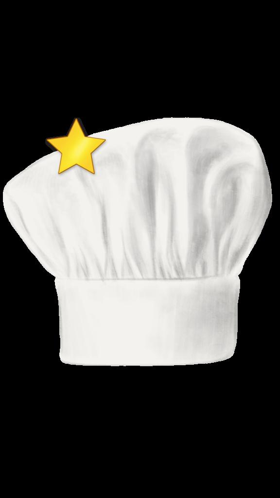 chef hat (1 star)