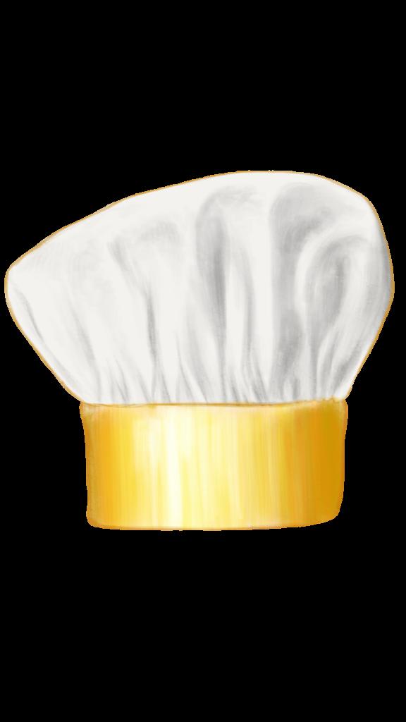 chef hat (gold)