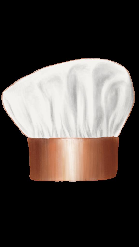 chef hat (bronze)